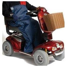 scooter beenbescherming - regenbescherming M