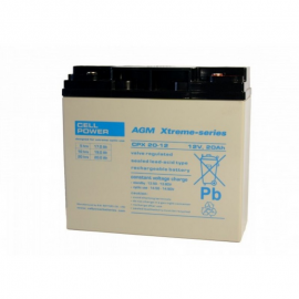 115 amp CELL POWER CPX (per set van 2)